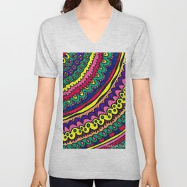 Layered treats Unisex V-Neck