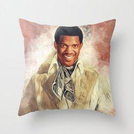 Edwin Starr, Music Legend Throw Pillow