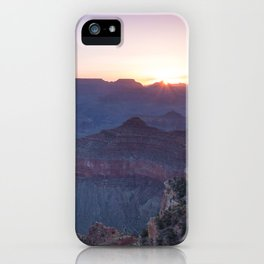 Beautiful Sunrise in the Grand Canyon iPhone Case