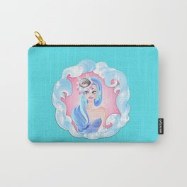 Chinese Zodiac The Rat Pin Up Girl Carry-All Pouch