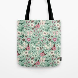 Garden Butterflies Tote Bag