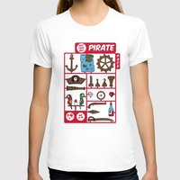 kit king T-shirts featuring pirate kit by blablasah