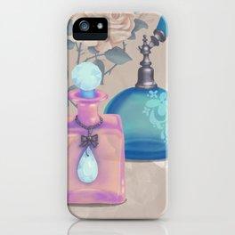Antique Victorian Perfume Bottles iPhone Case