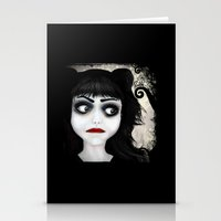 eugenia loli Stationery Cards featuring Dear little doll series... EUGENIA by Rouble Rust