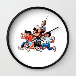 Kamogawa Team Wall Clock