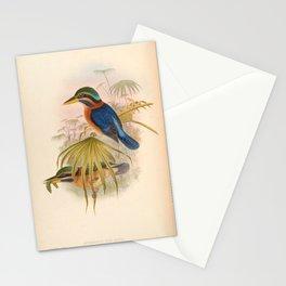 Actenoides Concretus Kingfisher Birds Stationery Cards