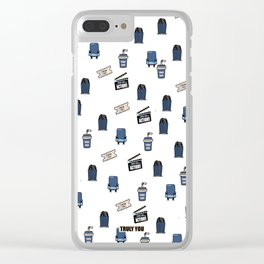 Series #2 MOVIE: All About Movies Clear iPhone Case