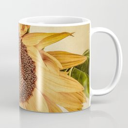 Vintage Sunflower Coffee Mug