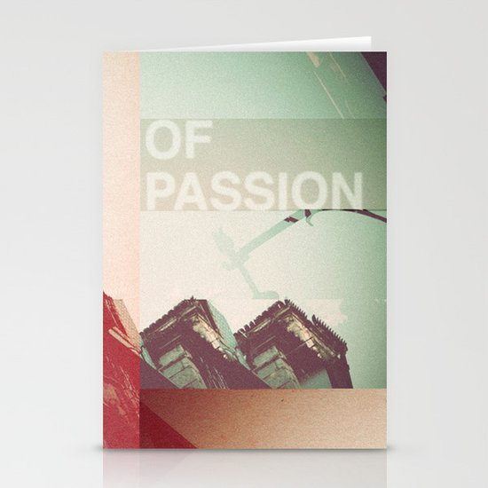 Lisbon of Passion Stationery Cards