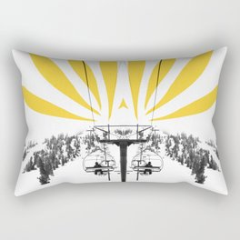 flower lift Rectangular Pillow