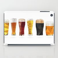 beer iPad Cases featuring Beer by the lazy pigeon