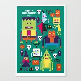 Halloween Hootenanny! Canvas Print