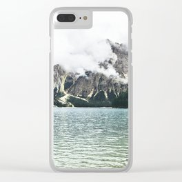 By the Sea to the Mountains Clear iPhone Case