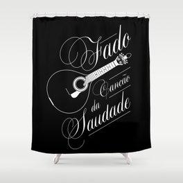 Fado - Dark Shower Curtain