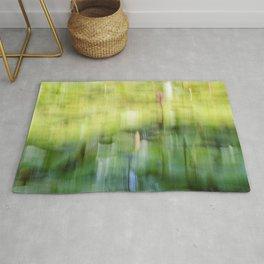 Tropical Impressionism - Lily Pond Rug