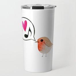 Reina: The singing bird Travel Mug