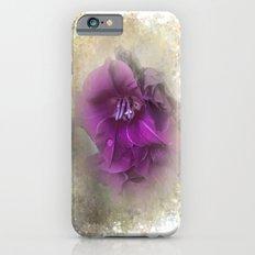 Purple Gladiolas Slim Case iPhone 6s