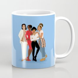 Living Single / Khadijah, Max, Regine & Synclaire Coffee Mug
