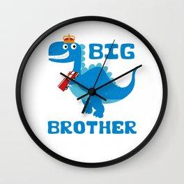 Big Brother Dino Wall Clock