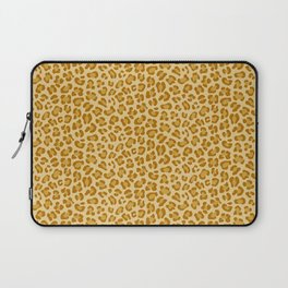 Leopard - Spicy Mustard Laptop Sleeve