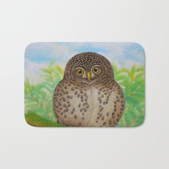 Collared Owlet Bath Mat