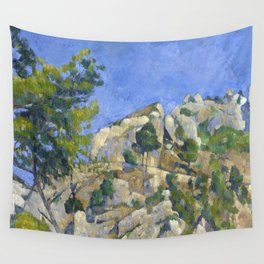 1874 - Paul Cezanne - Bottom of the Ravine Wall Tapestry