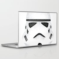 trooper Laptop & iPad Skins featuring Trooper by Charles Dew