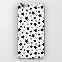 stark iPhone & iPod Skins featuring Stark Stars by SonyaDeHart