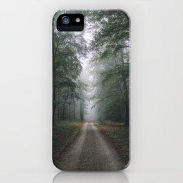 Autumn Forest Walk iPhone Case