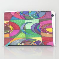 stained glass iPad Cases featuring Stained Glass by SaraLaMotheArt