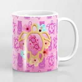 Hawaiian Pink Honu Coffee Mug