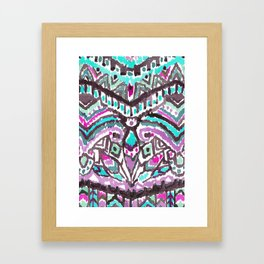 Barbarian Tribe in Mystic Summer Framed Art Print