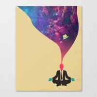 explore Canvas Prints featuring Explore by Jazzberry Blue