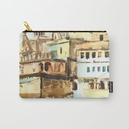 Varanasi India Hindu Pilgrimage Carry-All Pouch