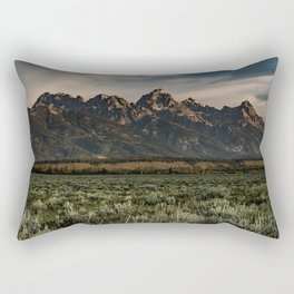 Teton Morning Rectangular Pillow