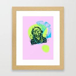 Mr. Dostoevsky Framed Art Print