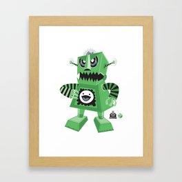 Bratbot Framed Art Print