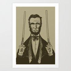 Abe Art Print