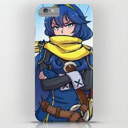 Lucina + Scarf iPhone Case