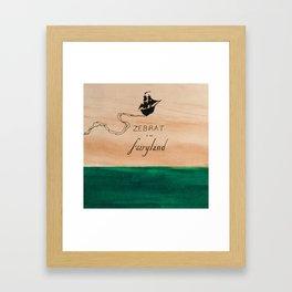 Zebrat in Fairyland - Album Art Framed Art Print