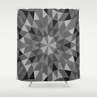 gray pattern Shower Curtains featuring Gray Pattern by 2sweet4words Designs