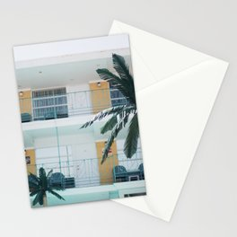 Retro Motel in Wildwood, New Jersey Stationery Cards