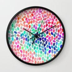 rain 12 Wall Clock