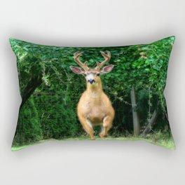 Still In Velvet Rectangular Pillow