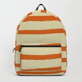 Paint Lines Orange Backpack