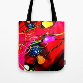 Plastic Flowers 1 Tote Bag