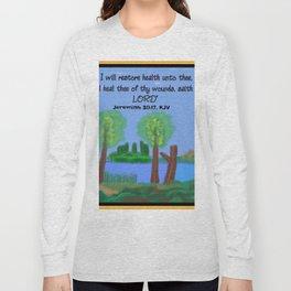 Jeremiah 30:17, KJV Long Sleeve T-shirt