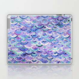 Marble Mosaic in Amethyst and Lapis Lazuli Laptop & iPad Skin