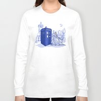 kindle Long Sleeve T-shirts featuring Come Away with Me by Karen Hallion Illustrations