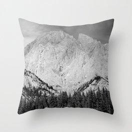 Imposing Ridge Throw Pillow